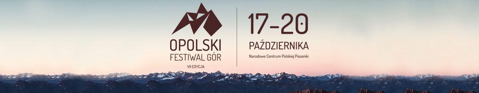 17 – 20.10.2018 Zapraszamy na VII Opolski Festiwal Gór!