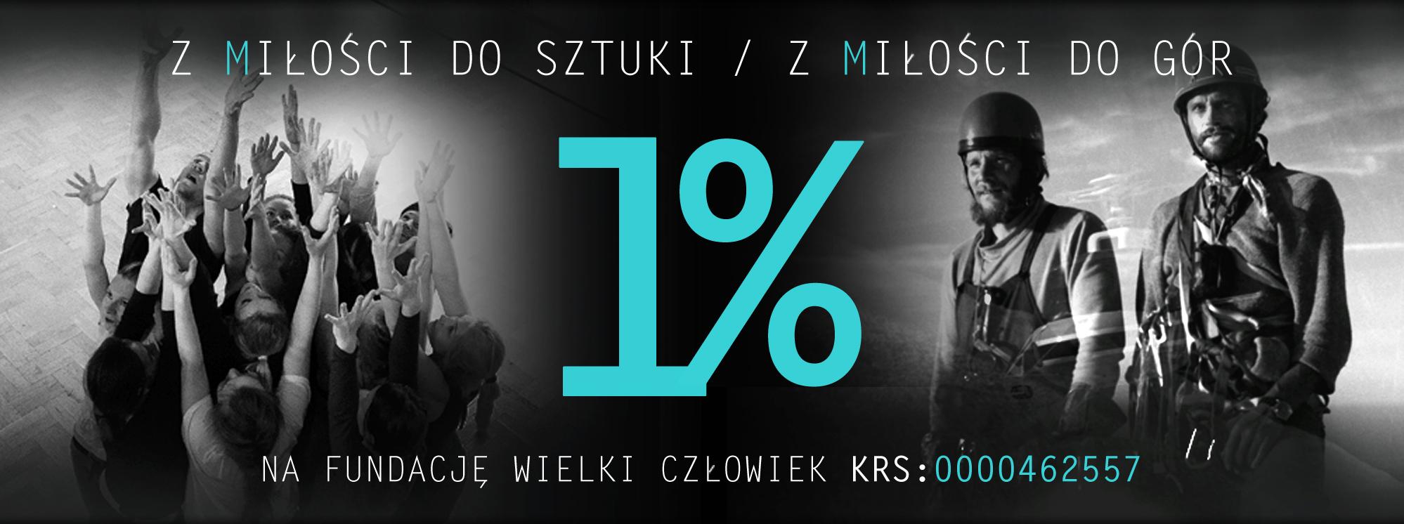 Twój 1% dla Fundacji Wielki Człowiek!